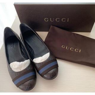 グッチ(Gucci)のGUCCI グッチ フラットシューズ バレエシューズ パンプス(ハイヒール/パンプス)