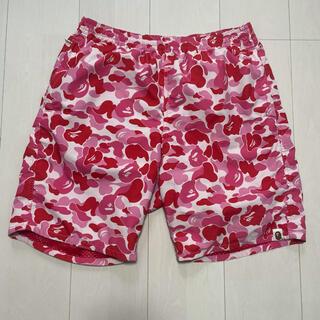 アベイシングエイプ(A BATHING APE)のBAPE ABC Camo Beach Shorts(ショートパンツ)