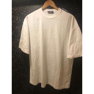 Balenciaga - バレンシアガ BALENCIAGA 肩ロゴ オーバーサイズシャツ