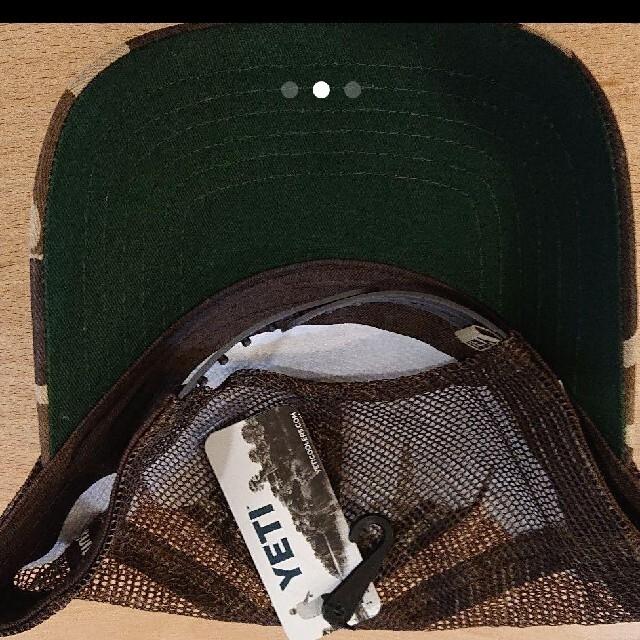 Coleman(コールマン)の新品YETI キャップ カモフラージュ柄 スポーツ/アウトドアのアウトドア(その他)の商品写真