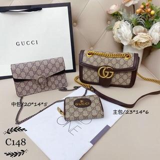 グッチ(Gucci)の☆美品☆GUCCI グッチ ショルダーバッグ 3点セット(三人掛けソファ)