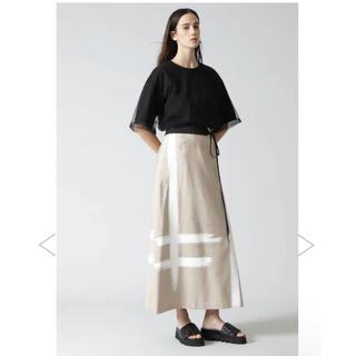 ADORE - アドーア 今季 ブラッシュストロークプリントスカート