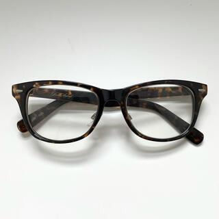 ユニクロ(UNIQLO)のダテメガネ べっ甲 サングラス 眼鏡 ユニセックス(サングラス/メガネ)