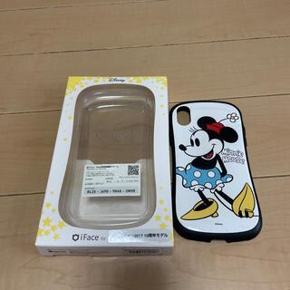ディズニー(Disney)のiFace iPhone X  Disney ミニーマウス(iPhoneケース)