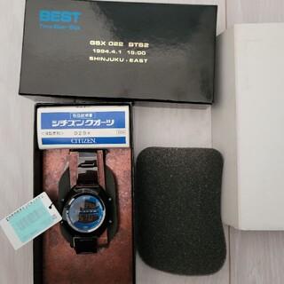 シチズン(CITIZEN)の未使用品 BTS-2-EAST デジタル GSX022 希少インディペンデント(腕時計(デジタル))