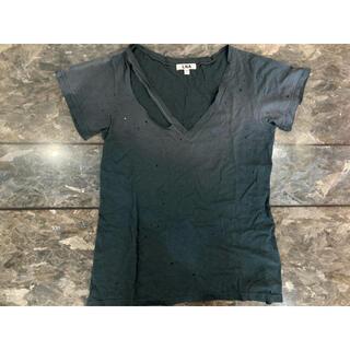 エルエヌエー(LnA)のLNA ダメージTシャツ(Tシャツ(半袖/袖なし))