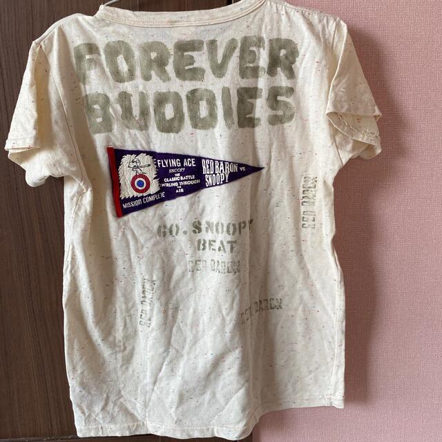DENIM DUNGAREE(デニムダンガリー)のデニム&ダンガリー スヌーピー Tシャツ 160 キッズ/ベビー/マタニティのキッズ服男の子用(90cm~)(Tシャツ/カットソー)の商品写真