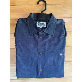 ヴィヴィアンウエストウッド(Vivienne Westwood)のヴィヴィアンウエストウッドマン メンズシャツ ネイビー 46 (クリーニング済)(シャツ)