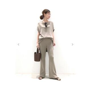 L'Appartement DEUXIEME CLASSE - 新品 L'Appartement✧︎Rib knit パンツ