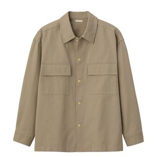 ジーユー(GU)のGU ヘビーツイルシャツアウター(長袖)(ブルゾン)