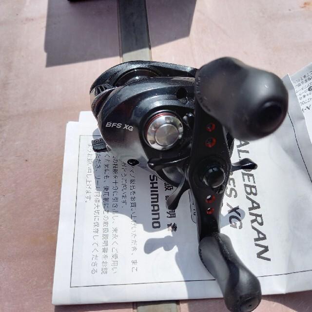 SHIMANO(シマノ)のシマノ 12 アルデバラン BFS 数回使用美品中古品 早い者勝ち 送料込み スポーツ/アウトドアのフィッシング(リール)の商品写真