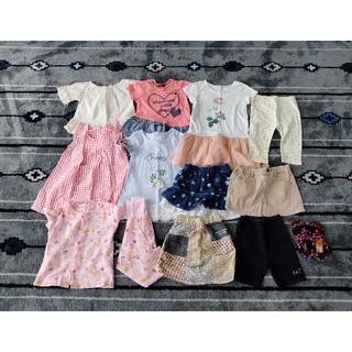 スキップランド(Skip Land)の子供服 女の子 まとめ売り 90.100.110(Tシャツ/カットソー)