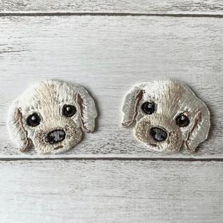 [127]🐶わんちゃん・犬 ワッペン アイロンok