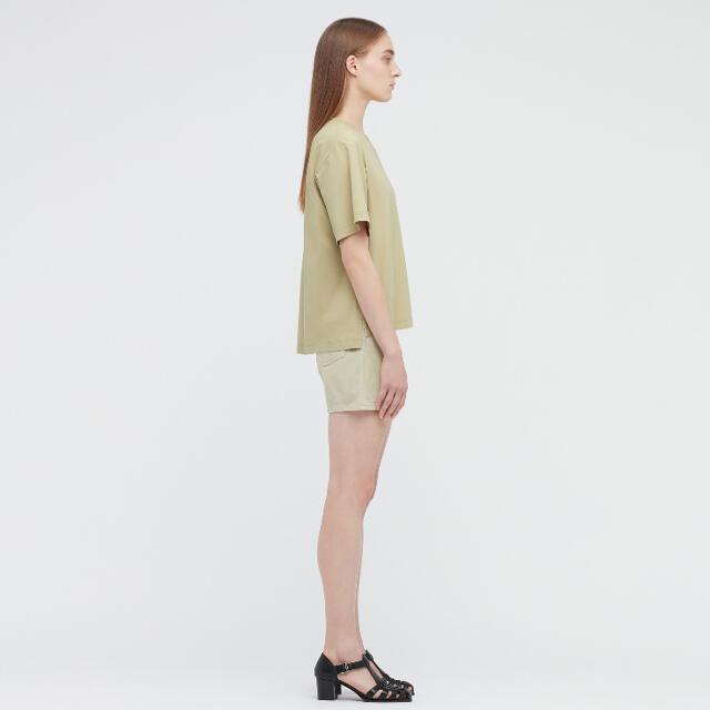 UNIQLO(ユニクロ)の新品 未使用 タグ付き UNIQLO エアリズムコットンオーバーサイズTシャツ メンズのトップス(Tシャツ/カットソー(半袖/袖なし))の商品写真