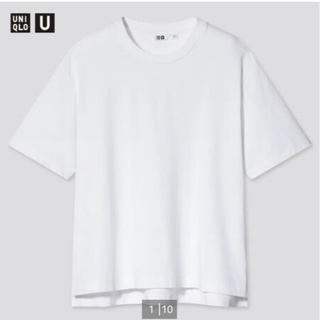 UNIQLO - 新品 未使用 タグ付き UNIQLO エアリズムコットンオーバーサイズTシャツ