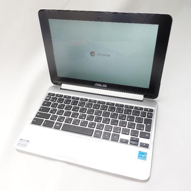 ASUS(エイスース)のASUS Chromebook Flip C100PA ノートパソコン スマホ/家電/カメラのPC/タブレット(ノートPC)の商品写真