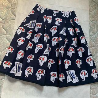 M'S GRACY - エムズグレイシー  2020年 傘柄スカート