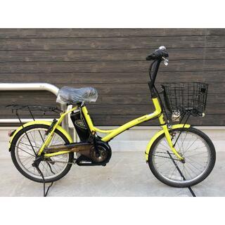 Panasonic - 地域限定 シュガードロップ 新基準 小径車 8,9AH 黄緑 神戸市 電動自転車