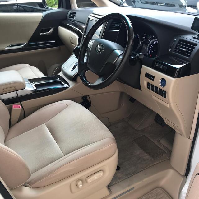 トヨタ(トヨタ)の平成25年 トヨタ ATH20W ヴェルファイア ハイブリッド 車検付 自動車/バイクの自動車(車体)の商品写真