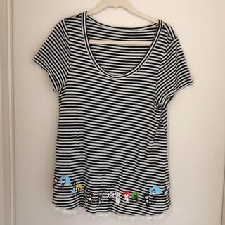 フランシュリッペ(franche lippee)のフランシュリッペ Tシャツ 可愛いボーダー(Tシャツ(半袖/袖なし))