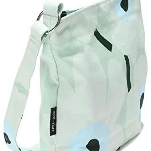 marimekko(マリメッコ)のマリメッコ marimekko ショルダーバッグ ライトターコイズ レディースのバッグ(ショルダーバッグ)の商品写真