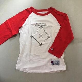 チャンピオン(Champion)のチャンピオン champion ラグラン ベースボールT (Tシャツ/カットソー(七分/長袖))