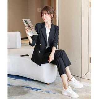 【M】レディース パンツスーツ ツーピース(スーツ)