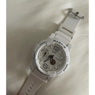 ベビージー(Baby-G)の腕時計 白 スポーツ ベビージー(腕時計)