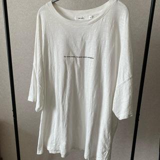 ニコアンド(niko and...)のniko and ピグメントロゴTシャツ ニコアンド (Tシャツ(半袖/袖なし))