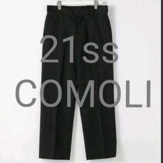 COMOLI - 21ss COMOLI コモリ POST WORK TWILL PANTS