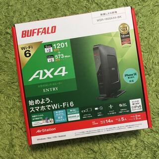 Buffalo - 中古☆ BUFFALO Wi-Fi6ルーター AX4