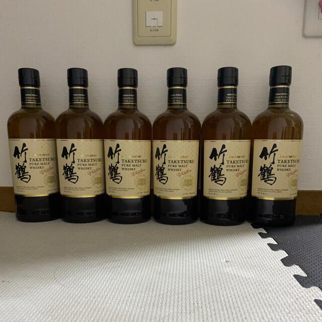 ニッカウヰスキー(ニッカウイスキー)の竹鶴6本 食品/飲料/酒の酒(ウイスキー)の商品写真
