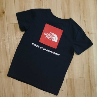 THE NORTH FACE - ノースフェイス☆ボックスロゴTシャツ  120センチ