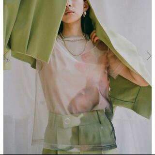 アメリヴィンテージ(Ameri VINTAGE)のSAYO NAGASE SPRING MORNING COLLAB TEE(Tシャツ/カットソー(半袖/袖なし))
