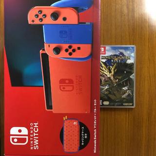 Nintendo Switch - Switch マリオレッド×ブルー 本体 新品未使用 Nintendo モンハン