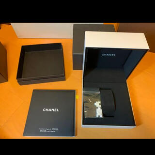 シャネル(CHANEL)のCHANEL 腕時計 空箱 コマつき 正規品(腕時計(アナログ))