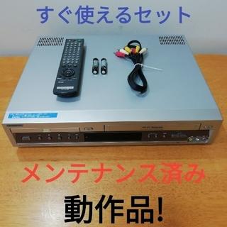 SONY - SONY DVD一体型VHSビデオデッキ【SLV-D33V】メンテナンス済み