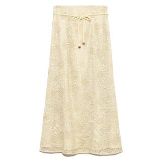 Lily Brown - 刺繍レースマーメイドスカート*リリーブラウン