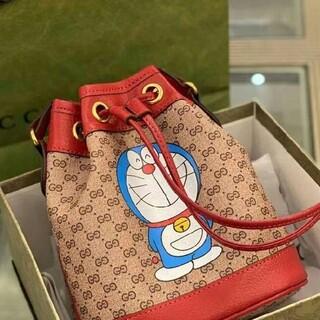 Gucci - GUCCI ドラえもん ミニバケットバッグ