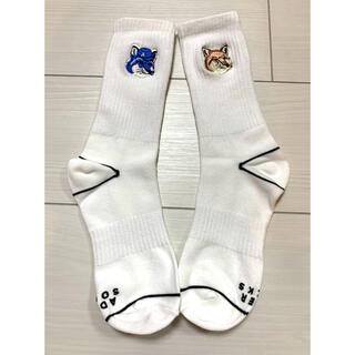 MAISON KITSUNE' - メゾンキツネ ADER 韓国 アダーエラー コラボ 靴下
