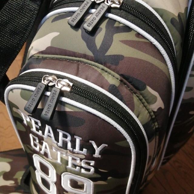 PEARLY GATES(パーリーゲイツ)のパーリーゲイツ 迷彩キャディーバッグセット スポーツ/アウトドアのゴルフ(バッグ)の商品写真