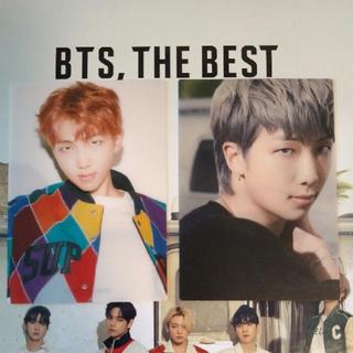 『BTS, THE BEST』トレカ ナムジュン(アイドルグッズ)