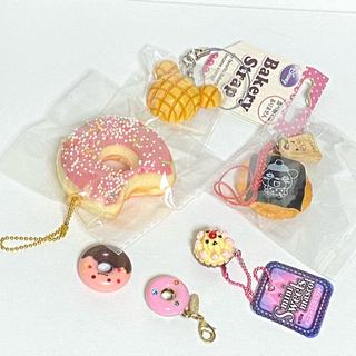お菓子のストラップ 3種セット(その他)