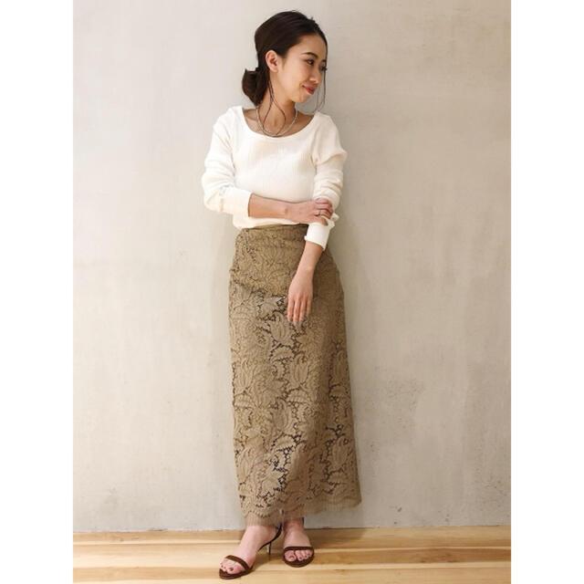Plage(プラージュ)のPlage Sophie hallette ペンシルスカート レディースのスカート(ロングスカート)の商品写真