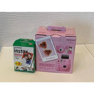 富士フイルム - インスタントカメラ チェキ instax mini8+ フィルム付き