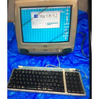マック(Mac (Apple))のiMac g3  初代 ボンダイブルー 動作良好 m4984 1998年(デスクトップ型PC)