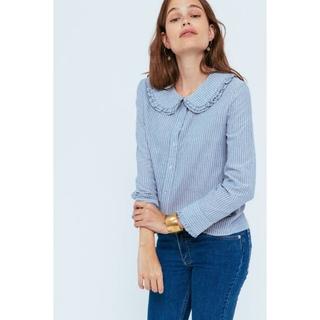 EDIT.FOR LULU - france balzac paris raffle stripe blouse