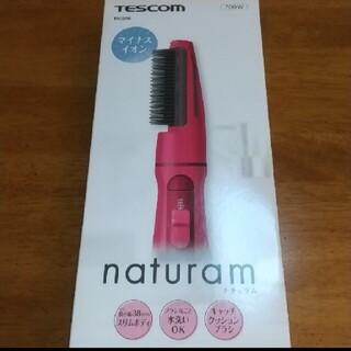 TESCOM - TESCOM マイナスイオンカールドライヤー TIC296-P(ピンク)くるくる