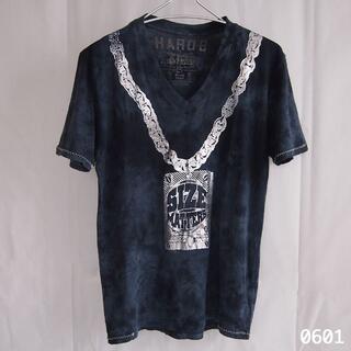 Ron Herman - タイダイ シルバー チェーン 箔 プリント アメリカ 製 ロックバンド Tシャツ