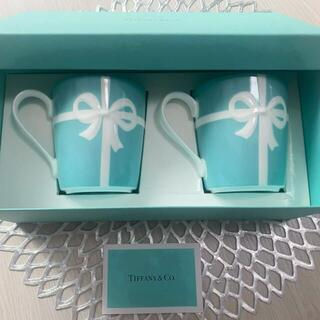 Tiffany & Co. - 【新品】ティファニー マグカップ2個セット